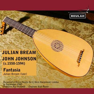 Pay for John Johnson Fantasia Julian Bream