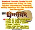 Thumbnail Learn to Play Guitar - 6 ebooks