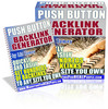 Thumbnail *NEW* The Push Button Backlink Generator ! Master Resale Rights Included + 25 FREE Reports ( Bargain Hunter Warehouse )