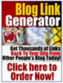 Thumbnail BLOG LINK GENERATOR.GET THOUSANDS OF BACK LINKS!!! - Downloa
