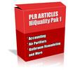 Thumbnail Buy PLR Articles Hi-Quality Pack 1 with Bonus