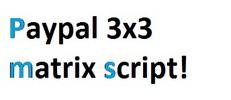 Thumbnail PHP 3x3 paypal matrix script