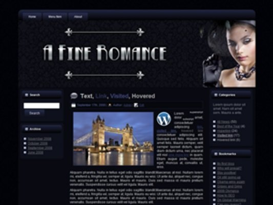 Pay for Fine Romance Theme 2 With (MRR)