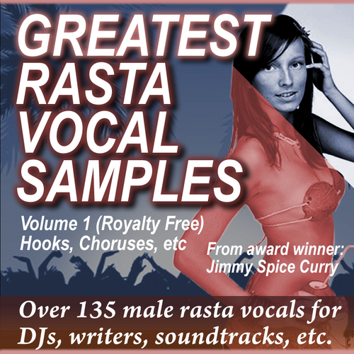 Pay for GREATEST RASTA VOCAL SAMPLES, Vol 1 (.WAV, 135+ ROYALTY FREE)