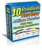 Thumbnail ***10 Product Review Affiliate Websites (MRR)***