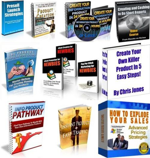 Pay for Ultimate Product Creation Secrets Pack + 2 Mystery BONUSES!