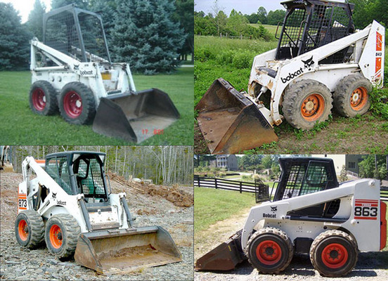 Pay for Bobcat Parts 863 Manual Skid Steer 863-G, 863G Complete Parts Catalog