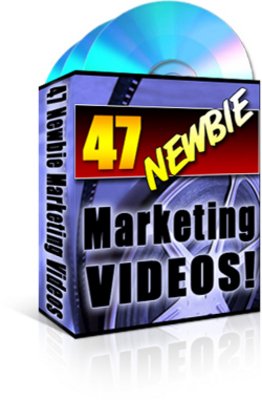 Pay for *New!* 47 Newbie Marketing Videos --Private Label Right*