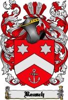 Pay for Reusch Family Crest  Reusch Coat of Arms Digital Download