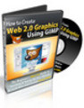 Thumbnail How To Create Web 2.0 Graphics Using GIMP Video Tutorials