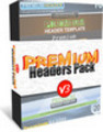 Thumbnail Premium Headers Pack V3 with MRR
