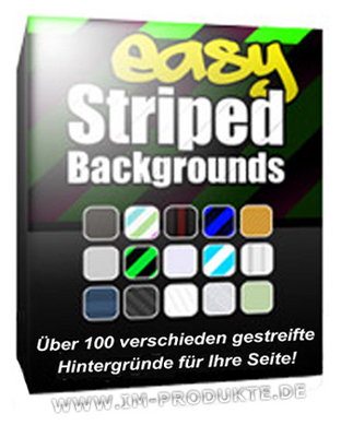 Pay for Easy Striped Backgrounds mit MRR