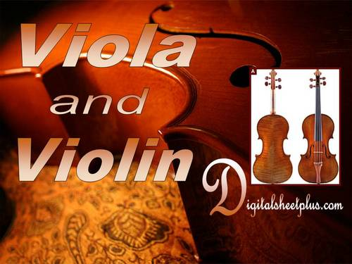 Pay for VIOLA and VIOLIN Sheet Music Collection