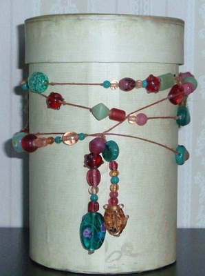 Pay for Wrapped Glass Bead Neclace PLR