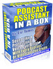 Thumbnail Podcast Assistant in a Box PLR