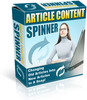 Thumbnail Article Content Spinner Software