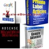 Thumbnail *NEW!* 4 Google Adsense eBooks Download Collection