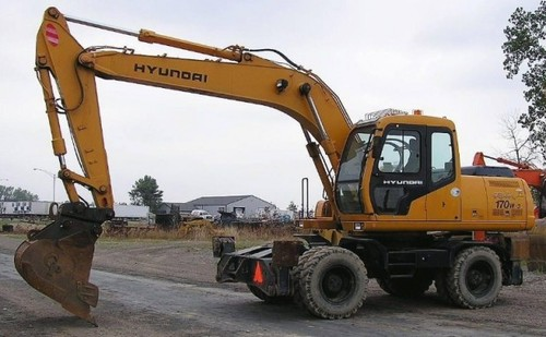 Pay for Hyundai R170W-3 Wheel Excavator Service Repair Workshop Manual ...