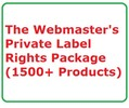 Thumbnail The Webmasters Private Label Rights Package