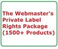 Thumbnail Private Label Rights Package Established Internet Website Business with PLR MRR