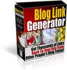Thumbnail Blog Link Generator Software Master Resell