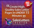 Thumbnail Sales Letters Creator & Mentoring