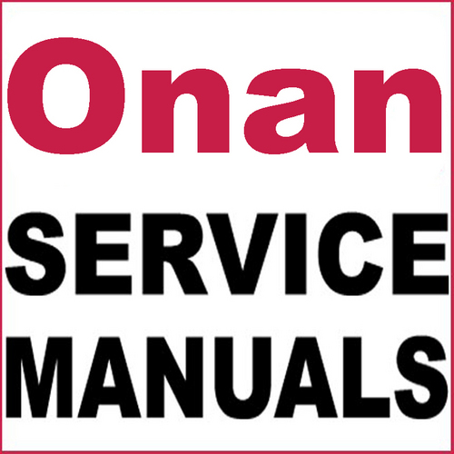 Pay for Onan RCCK Service Repair and Illustrated Parts Manual -2- Manuals - DOWNLOAD