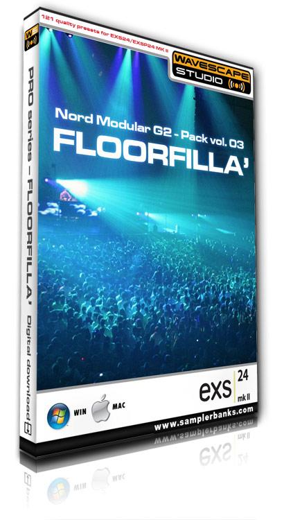 Pay for DJ samples  - Floorfilla  - Apple EXS 24 mk2 format