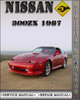 Thumbnail 1987 Nissan 300ZX Factory Service Repair Manual
