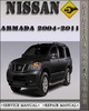 Thumbnail 2004-2011 Nissan Armada Factory Service Repair Manual 2005 2006 2007 2008 2009 2010