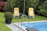 Thumbnail Two deck chairs at the pool