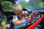 Thumbnail Newborn in the car seat - two -year-old holding his little brother MR