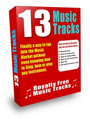 Pay for 13 Music Sound Tracks