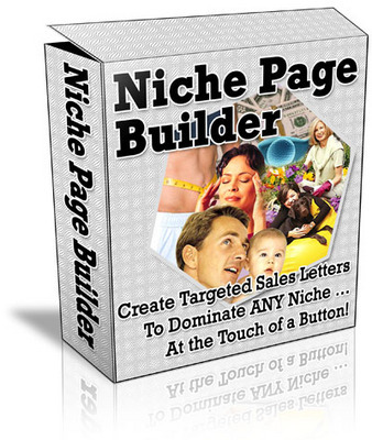 Pay for **Niche Page Builder**Software with Master Resell Rights