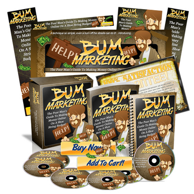 Pay for Bum Marketing Minisite Web Template MRR