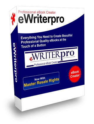 Pay for EWRITER PRO,PROFESSIONAL SOFTWARE CREATES AN EBOOK, ADOBE READER PDF, EASY + RESELL